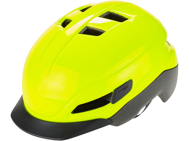MET Grancorso Casque, glossy safety yellow